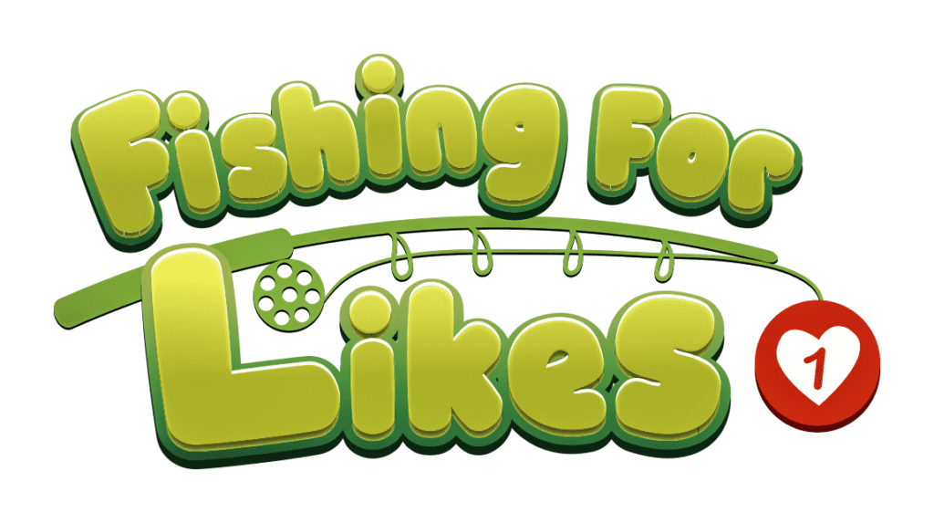 Fishing for Likes toy logo