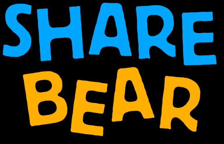 Share Bear toy logo