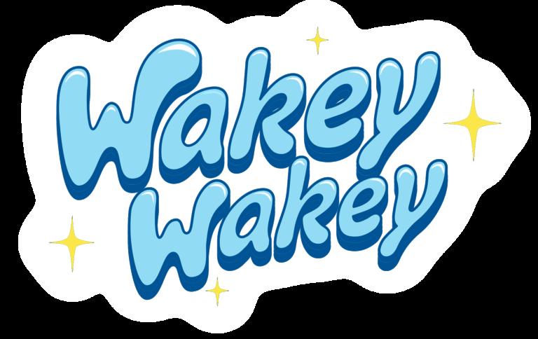 Wakey Wakey toy logo