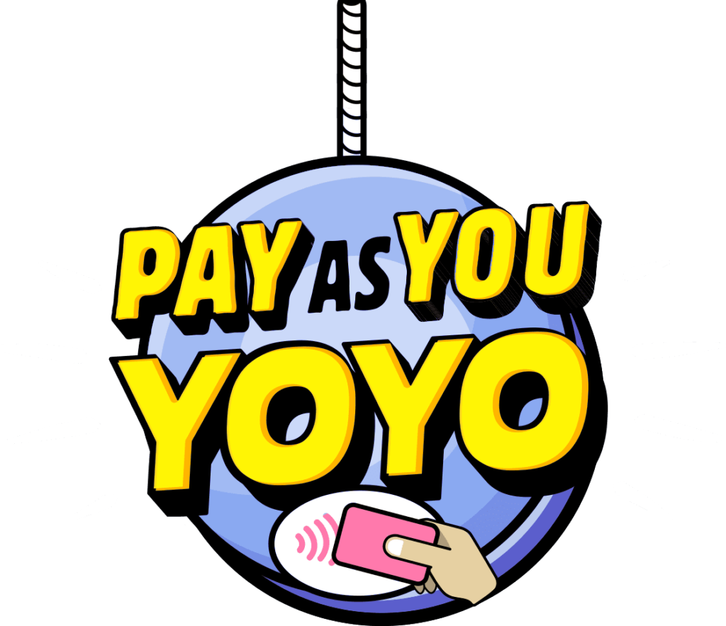 Pay as You Yoyo toy logo